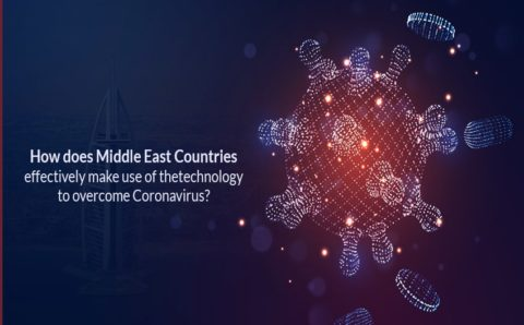 How Does Middle East Countries effectively make use of technology to overcome Coronavirus?